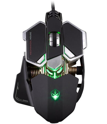 LUOM G10 4000DPI Adjustable Wired Optical Gaming Mouse - Titan Design & Technology - 1