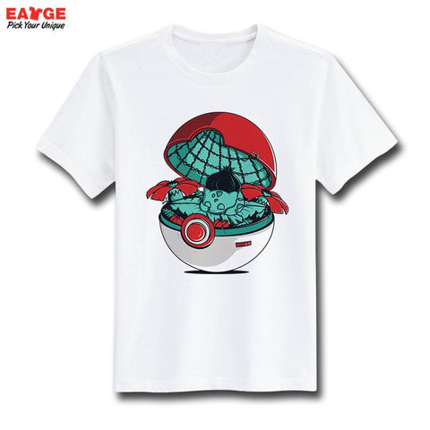 Pokemon Bulbasaur Home Unisex T-Shirt - Titan Design & Technology - 1