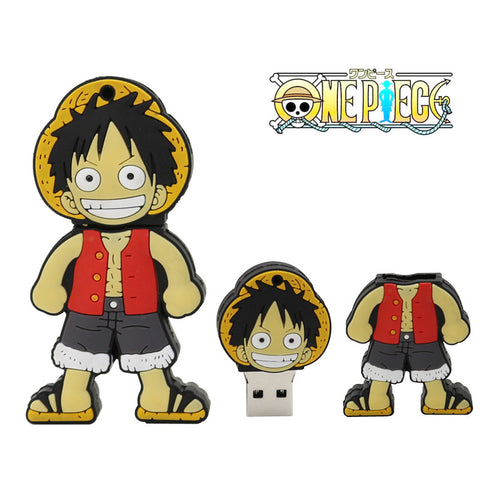 One Piece Monkey D Luffy USB 2.0 Flash Drive - Titan Design & Technology - 1