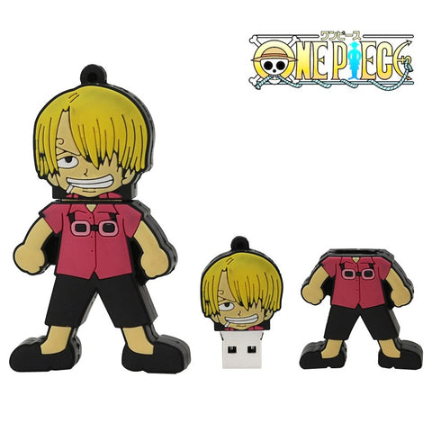 One Piece Shanks USB 2.0 Flash Drive - Titan Design & Technology