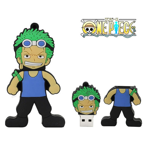 One Piece Roronoa Zoro USB 2.0 Flash Drive - Titan Design & Technology