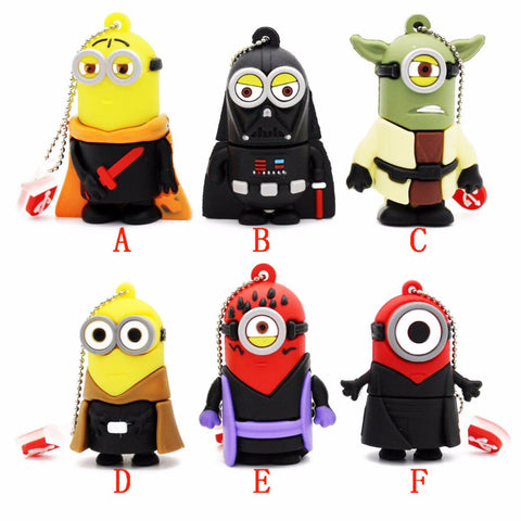 Star Wars Minions USB 2.0 Flash Drive - Titan Design & Technology - 1