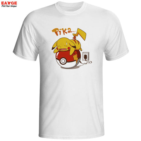 Pokemon Pikachu Recharge Men's T-Shirt - Titan Design & Technology