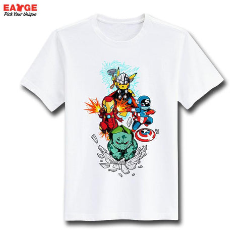 Pokemon Avengers T-Shirt - Titan Design & Technology - 1