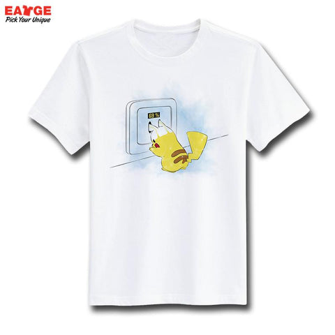 Pokemon Pikachu Recharge T-Shirt - Titan Design & Technology - 1
