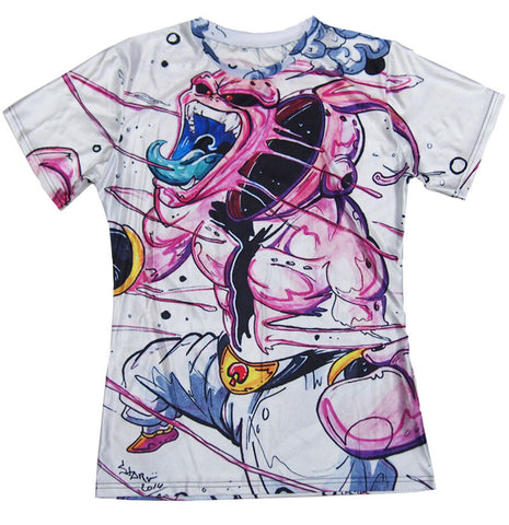 Dragon Ball Z Majin Buu Art Men's T-Shirt - Titan Design & Technology