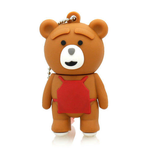 Ted USB 2.0 Flash Drive - Titan Design & Technology - 1