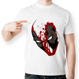Deadpool Mask Marvel Unisex T-Shirt - Titan Design & Technology - 1