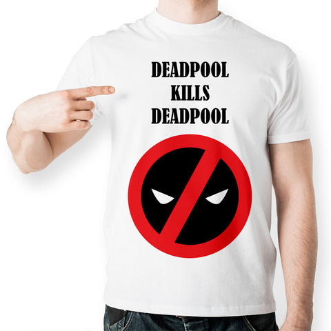 Deadpool Kills Deadpool Marvel Unisex T-Shirt - Titan Design & Technology - 1