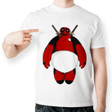 Baymax Deadpool Cosplay Marvel Unisex T-Shirt - Titan Design & Technology - 1