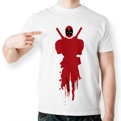 Deadpool Minimalist Marvel Unisex T-Shirt - Titan Design & Technology - 1