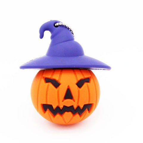 Halloween Pumpkin USB 2.0 Flash Drive - Titan Design & Technology - 1