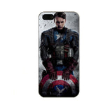 Deadpool Captain America Batman Iron Man Spiderman Superman Joker Darth Vader iPhone 5 5S Hard Case - Titan Design & Technology - 2