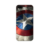 Deadpool Captain America Batman Iron Man Spiderman Superman Joker Darth Vader iPhone 5 5S Hard Case - Titan Design & Technology - 7