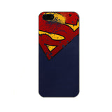 Deadpool Captain America Batman Iron Man Spiderman Superman Joker Darth Vader iPhone 5 5S Hard Case - Titan Design & Technology - 9