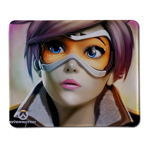 Overwatch Tracer Gamer Mouse Pad - Titan Design & Technology