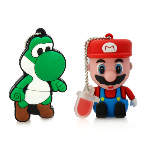 Mario & Yoshi USB 2.0 Flash Drives - Titan Design & Technology - 1