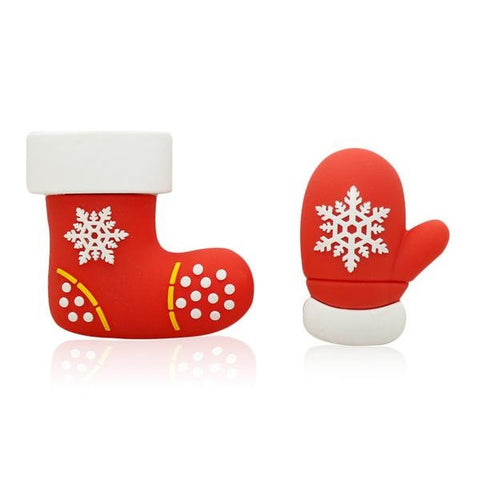 Christmas Stockings & Mittens USB 2.0 Flash Drives - Titan Design & Technology - 1