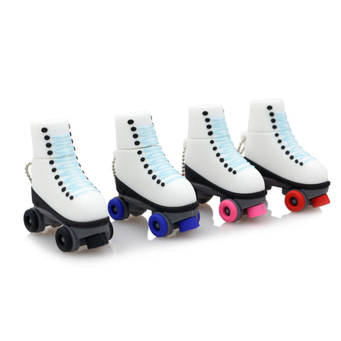 Roller Skates USB 2.0 Flash Drive - Titan Design & Technology - 1