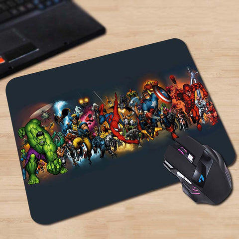 Marvel Comics Characters Mouse Pad - Titan Design & Technology