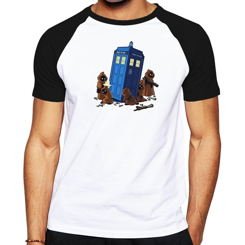 Doctor Who Star Wars Jawa TARDIS T-Shirt - Titan Design & Technology - 1