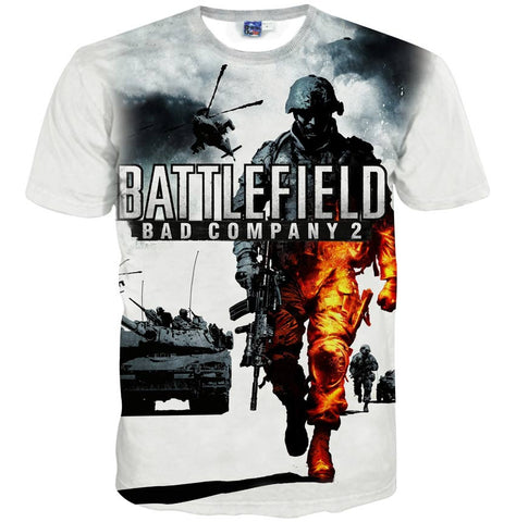Battlefield Bad Company 2 Men's T-Shirt - Titan Design & Technology - 1