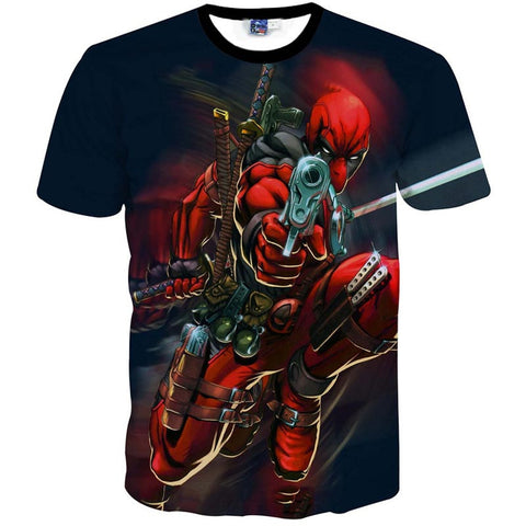 Deadpool Ready to Fight Men's T-Shirt - Titan Design & Technology