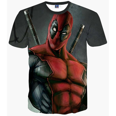 Deadpool the Badass Men's T-Shirt - Titan Design & Technology