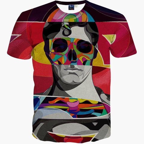 Superman Colourful Men's T-Shirt - Titan Design & Technology