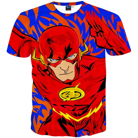 The Flash Colourful Men's T-Shirt - Titan Design & Technology