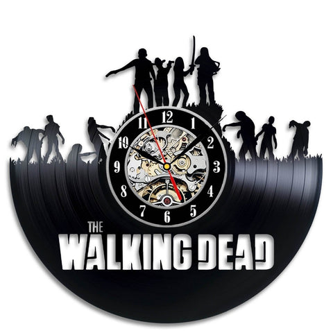 The Walking Dead Vinyl Record Wall Clock - Titan Design & Technology