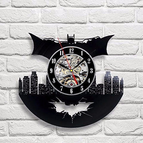 Batman Art Vinyl Record Wall Clock - Titan Design & Technology