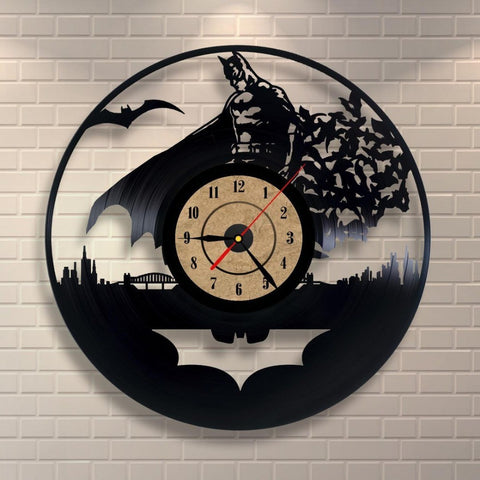 Batman Bats Vinyl Record Wall Clock - Titan Design & Technology
