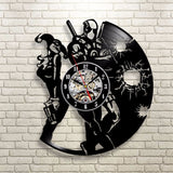 Deadpool Harley Quinn Vinyl Record Wall Clock - Titan Design & Technology - 2
