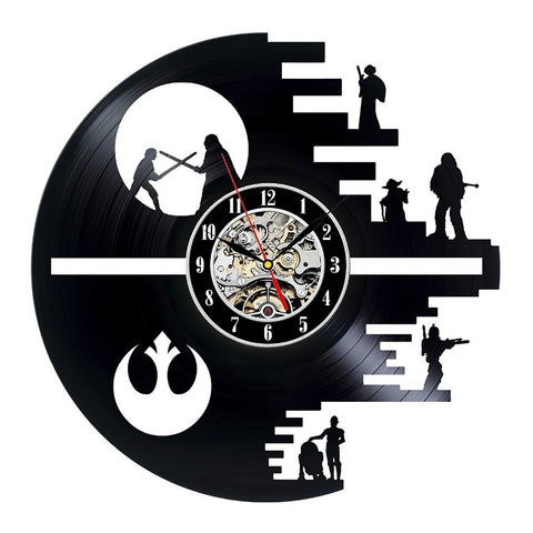 Star Wars Rebels Vinyl Record Wall Clock - Titan Design & Technology