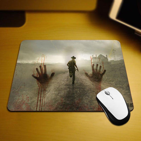 The Walking Dead Bloody Hands Mouse Pad - Titan Design & Technology