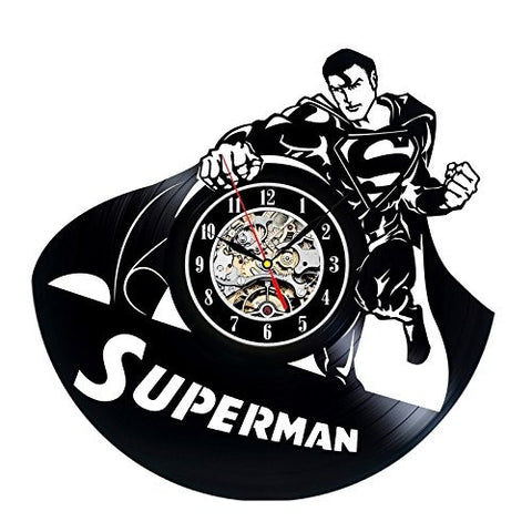Superman Vinyl Record Wall Clock - Titan Design & Technology