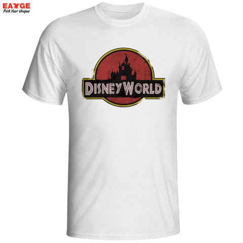 Jurassic Park Disney World Men's T-Shirt - Titan Design & Technology
