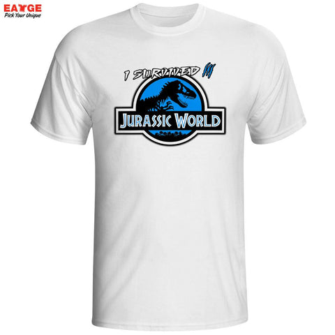 Jurassic Park Jurassic World Men's T-Shirt - Titan Design & Technology