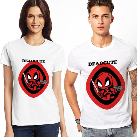 Deadpool Deadcute Marvel Unisex T-Shirt - Titan Design & Technology - 1