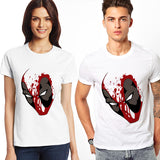 Deadpool Mask Marvel Unisex T-Shirt - Titan Design & Technology - 2