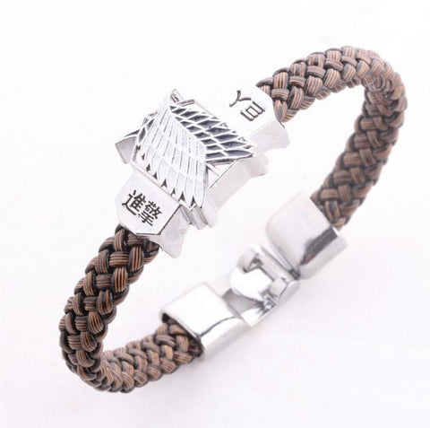 Attack on Titan Wings of Liberty Bracelet - Titan Design & Technology - 1