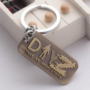 DayZ Dog Tag Game Logo Necklace & Key Chain - Titan Design & Technology - 1