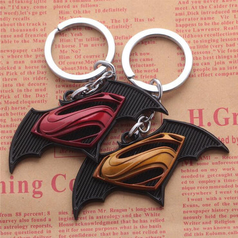 Batman vs Superman Key Chains - Titan Design & Technology - 1