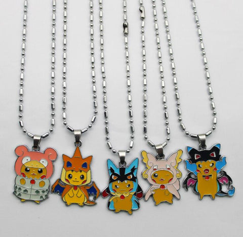 Anime Pokemon Pikachu Necklaces - Titan Design & Technology - 1
