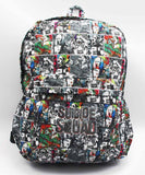 Suicide Squad Harley Quinn Joker School Bag Backpack - Titan Design & Technology - 1