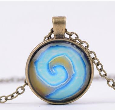 Hearthstone Glass Dome Necklace - Titan Design & Technology - 1