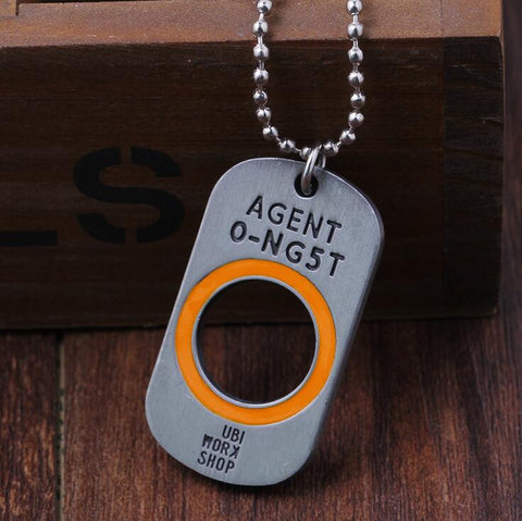 Tom Clancy's The Division Game Dog Tag Necklace & Key Chain - Titan Design & Technology - 1