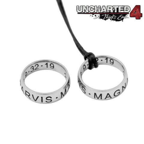 Uncharted 4 Drake Ring Cosplay Necklace - Titan Design & Technology - 1