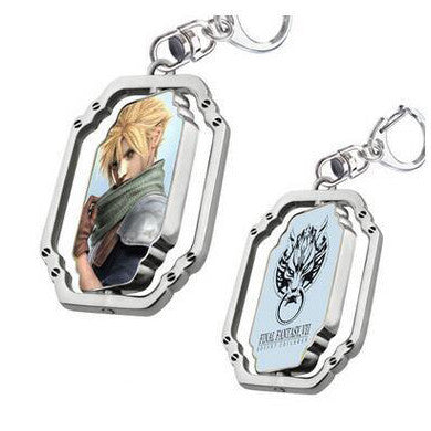 Final Fantasy VII Cloud Metal Necklace & Key Chain - Titan Design & Technology - 1